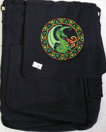 Circle Dragon Tech Bag