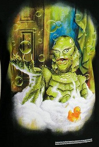 Creature in the Black Lagoon Bathtub T-Shirt