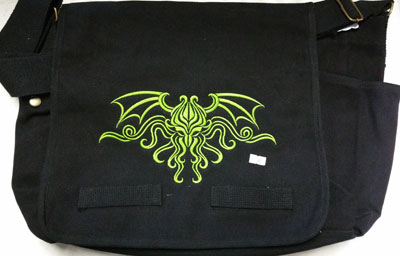 Cthulhu Ornate Messenger Bag