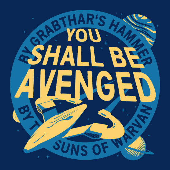 You Shall Be Avenged T-Shirt